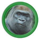 Perplexed Gorilla Set Of Poker Chips