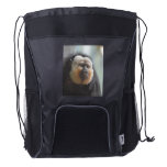 Saki Monkey Drawstring Backpack